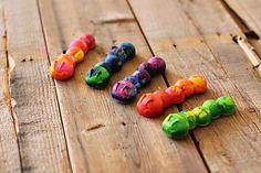 Jugar con la creatividad: Lápices de colores reciclados hechos en casa
