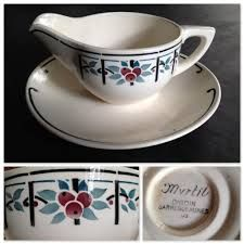Saucière DIGOIN - I MUST find some of these pieces soon!!  I am in LOVE with it!!!!