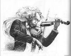 Album Caricature - La Musique Caricature, Music Humor, Claude, Cartoon Drawings, Live Life, Musicals, Joker, Statue, Fictional Characters