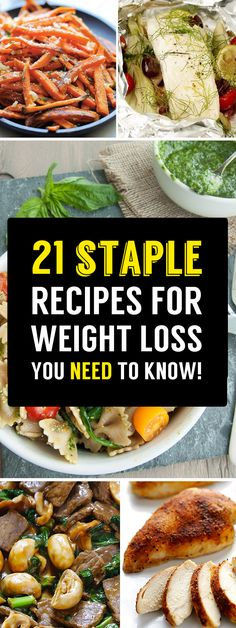 21 Healthy Recipe Staples That Everybody On A Diet Needs To Know!