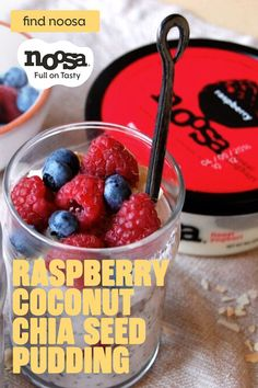 Breakfast Recipes, Snack Recipes, Cooking Recipes, California Pizza Kitchen, Noosa Yogurt, Coconut Chia Seed Pudding, Smoothies, Healthy Snacks, Healthy Recipes