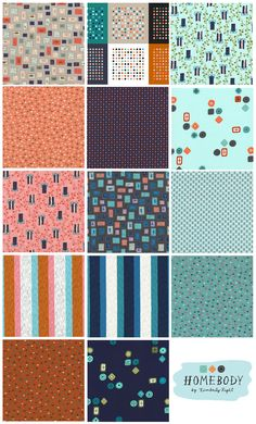 Cotton+Steel Collection: Homebody by Kim Kight