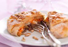 Pastillas au canard et foie gras fraisVoir la recette de laPastillas au canard et foie gras frais >>