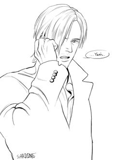 Body Reference Poses, Resident Evil Anime, Leon S Kennedy, Art World, Drawing Sketches, Line Art, Video Games, Ada Wong, Silent Hill