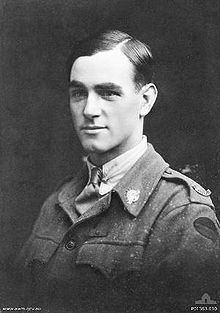 George Cartwright P01383.010.JPGOn 31 August 1918, at Road Wood, south-west of Bouchavesnes, near Peronne, France, when two companies became held up by machine gun fire, Cartwright attacked the gun alone under intense fire. He shot three of the crew, and, having bombed the post, captured the gun and nine enemy soldiers