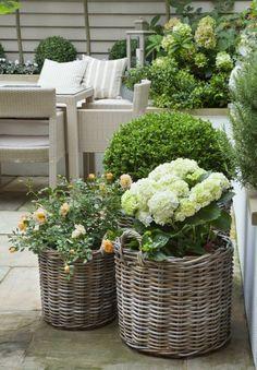 jardinière en bois jardinieres en rotin fabriquer une jardiniere de balcon