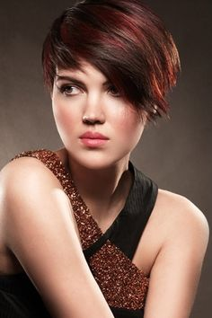 Clean, Layered, Two-Toned Pixie Cut