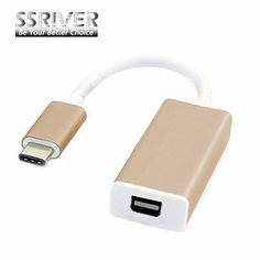 SSRIVER Mini DP Adapter Converter For Macbook 12 inch 2015, For Nokia N1 Tablet, Google ChromeBook Pixel #Affiliate