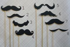 Create Your Own Mustache Party by LittleRetreats on Etsy Moustaches, Moustache Party, Arts And Crafts, Diy Crafts, Baby Shower, Bridal Shower, Photo Booth Props, Photo Booths, New Years Party