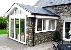 Image result for sunroom  extensions House Extension Design, Extension Designs, House Extensions, Shed, Outdoor Structures, Windows, Outdoor Decor, Sunrooms, Image