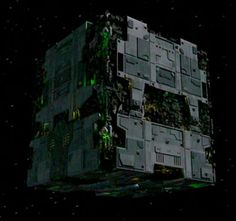 Borg tactical cube - Memory Alpha, the Star Trek Wiki - Wikia Star Trek Voyager, Akira, Science Fiction, Star Trek Tattoo, Star Trek Borg, Star Trek Images, Star Trek Characters, Star Trek Starships, Sci Fi Ships