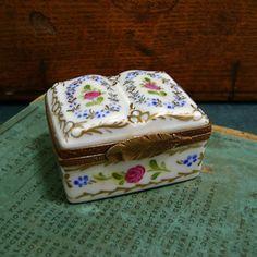 Vintage Limoges Fance Peint Main Miniature by SilverFoxAntiques, $60.00