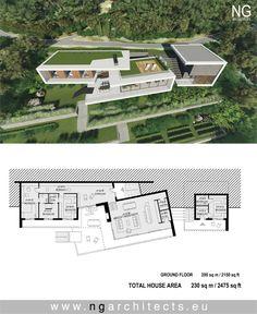 Modern villa Saint helena designed by NG architects www.ngarchitects.eu