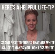 Pale girl tips