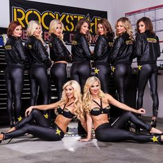 All of your favorite ladies in one room for the Supercross 2014 photoshoot! #BTS #RockstarEnergyModels