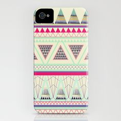 Aztec iPhone Case by Dream_scape - $35.00