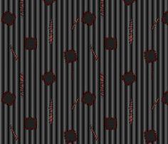 ZOMBIE GARB fabric by glimmericks on Spoonflower - custom fabric