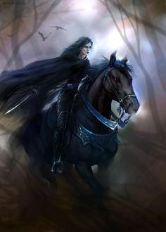 """""""Ride boldly ride,"""" the shade replied"""