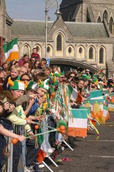 Fête de la saint patrick en Irlande