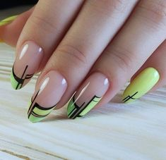 New gel manicure french ongles 57 ideas Cute Acrylic Nails, Cute Nails, Pretty Nails, French Nails, Hair And Nails, My Nails, Gel Nagel Design, Pin On, Oval Nails