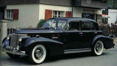 1938 Cadillac Series 60 Sedan