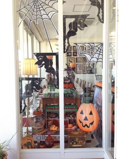 Chocolate Gables Quilt Halloween Display