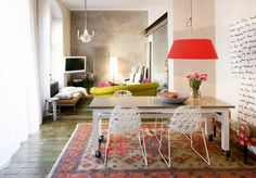 A colorful apartment