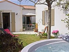 Ile de Re Luxury Villa ANDREA comfort and Garden south and SpaHoliday Rental in La Flotte from @HomeAwayUK #holiday #rental #travel #homeaway