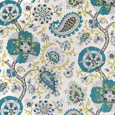 A6110 Peacock | Greenhouse Fabrics