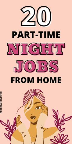 These part-time night jobs from home will help you earn some extra money from the comfort of your home. Legit evening jobs that pay well. #workfromhome #makemoneyonline #businessideas #sidehustles