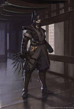 Mortal Kombat X - Feudal Kitana by Eleeron on DeviantArt
