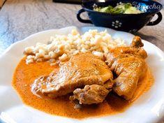 Kura na paprike (fotorecept) - recept Thai Red Curry, Ale, Turkey, Treats, Ethnic Recipes, Food, Peru, Sweet Like Candy, Meal
