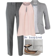 Casual Office Style by cloudybooks on Polyvore featuring polyvore, moda, style, Vera Mont, Miss Selfridge, DKNY, J.Crew, Ivanka Trump, fashion and clothing