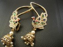 Peacock Earcuff Earrings £20.00