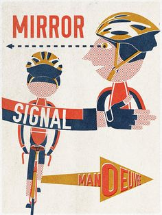MIRROR... SIGNAL... MANOEUVRE... by the Magnificent Octopus, via Flickr
