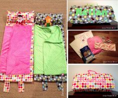 Nap Mat, handy for sleep overs, camping or possibly kindy. Lots of nap mat tutorials