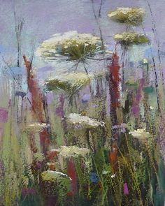 Painting My World: Moody Wildflowers Mini Pastel Demo