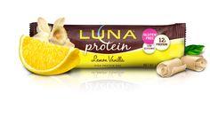 Lemon Vanilla- (P.S. All LUNA Bars are now #glutenfree)