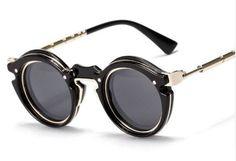Retro Steampunk Designer Sunglasses