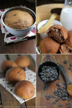 Every Cake You Bake: Mleczne bułeczki czekoladowe