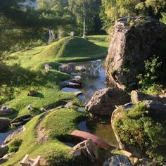 What makes the Taconic Mountains Ramble different from other State Parks is the Japanese garden.