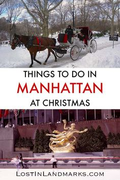 New York City at Christmas is a dream come true. From Ice skating in Central Park to shopping on Avenue - here's 10 things to do in New York City at Christmas centred in Manhattan. See the xmas lights. Tips for Xmas NYC vacation. Usa Travel Guide, Travel Usa, Travel Tips, Vacation Travel, Travel Goals, Travel Hacks, Travel Packing, Solo Travel, Budget Travel