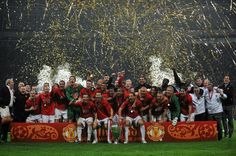 The 2008 Champions League final in Moscow