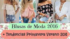 blusas de vestir 2016 - YouTube