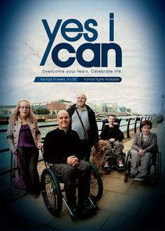 #YesICan follows competitors with conditions including muscular dystrophy, spina bifida, hereditary spastic paraplegia and #blindness, as they take part in #sports such as #skiing and #ziplining. The series, shot in Ireland, is presented by blind #adventurer Mark Pollock and aims to look not only at the preconceptions we as a society put on the #disabled but also on the preconceptions both able bodied and disabled people have about their own #personal #limitations