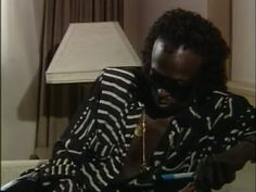 Miles Davis drawing in an interview. Found on YouTube, no info... #MilesDavis