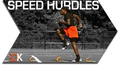 Speed hurdles Increase acceleration with faster turnover. Mini hurdles provide the spacing and height needed to force your feet to cycle fast. Agility Workouts, Agility Training, Speed Training, Sports Training, Sprint Workout, Track Workout, Speed Workout, Football Drills, Basketball Workouts