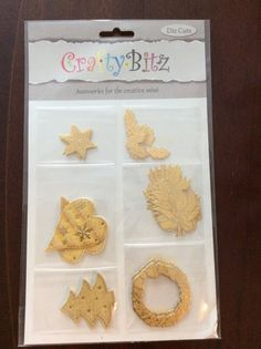 Crafty Bitz pk DC032papers shapes  etc etc by TheBargainStoreUK