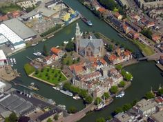Kerkeneiland, Maassluis, The Netherlands