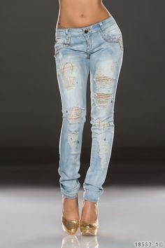1000 images about sch ne damen jeans damenjeans online kaufen on pinterest harem jeans. Black Bedroom Furniture Sets. Home Design Ideas